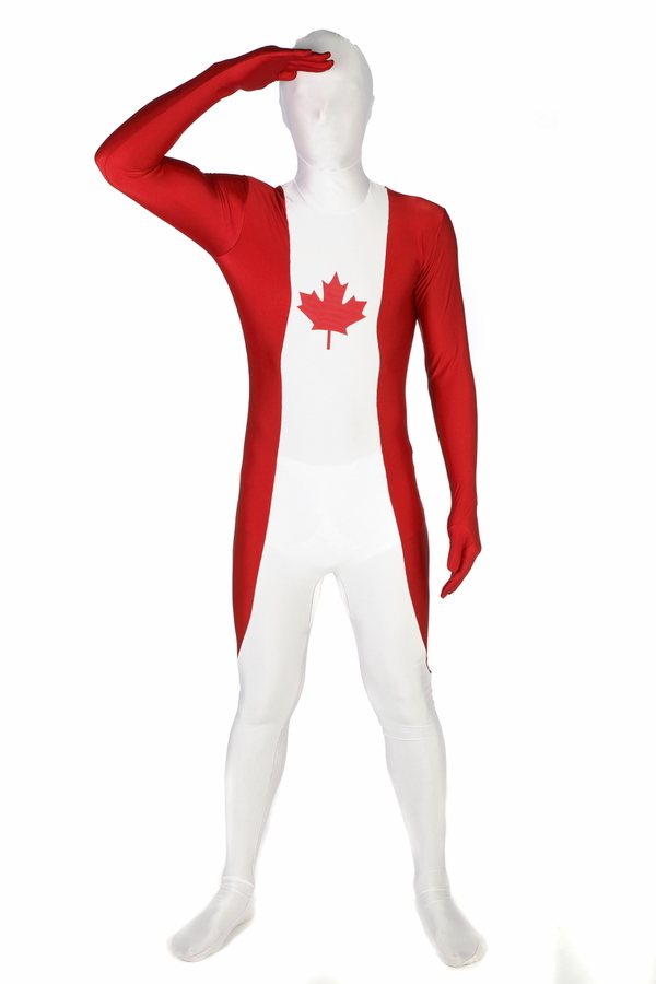 Canada Flag Morphsuit