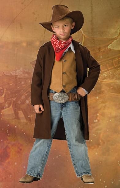 Kids Rawhide Renegade Cowboy Costume
