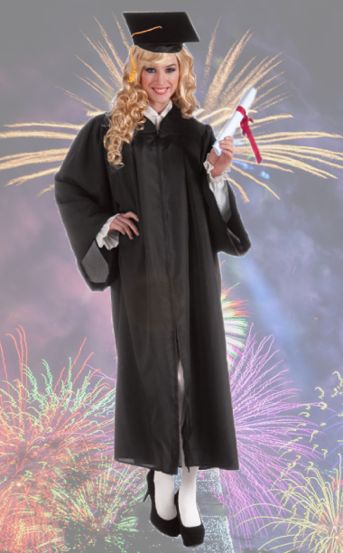 Adult Graduation Robe Costume