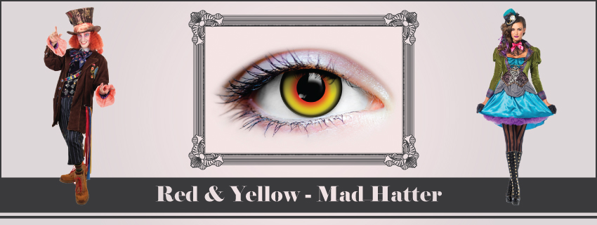 Mad Hatter Contact & Accessories | The Costume Shoppe
