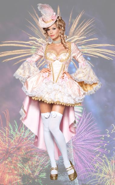 Vixen of Versailles Marie Antoinette Costume