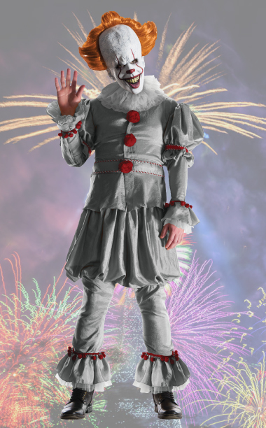 Pennywise IT Movie 2017 Grand Heritage Costume