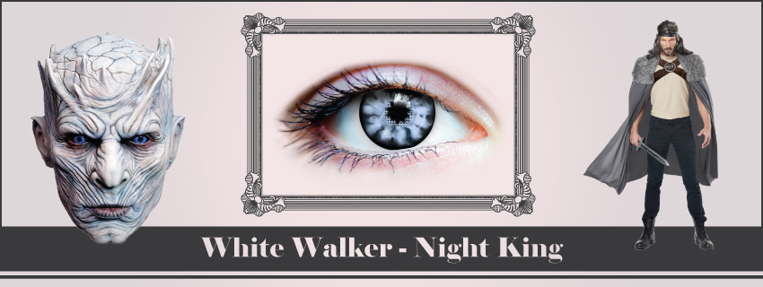 White Walker Contacts | Game of Thrones | The Costume Shoppe